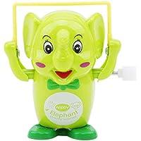 LALANG 面白い漫画の時計仕掛けゾウジャンプロープ 知育玩具 子供 赤ちゃん かわいいゲーム ギフト One size LALANG