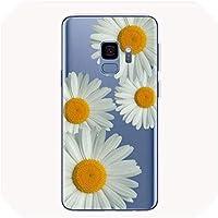 サムスンギャラクシーS8 S9 S10プラスS10E J6 A6 A8 A5 、A5790、J5 デイジーひまわり花の花電話ケース,提出する,ForS10EOrS10Lite