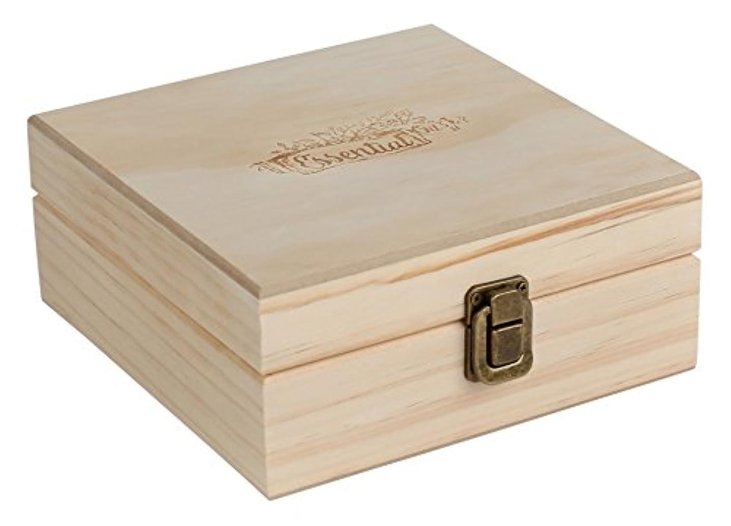 ホステス公爵夫人の頭の上汎用ロゴ/ W木箱ケース、25本のボトル(5-15 mL)を