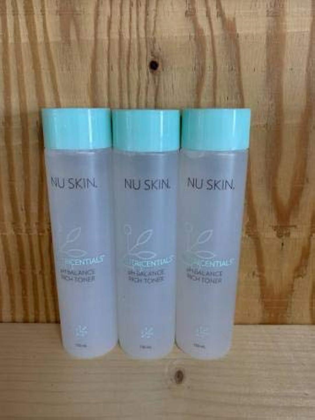直立味付け確認するお得な3本セット!ニュースキン pHバランスリッチトーナー 150ml 化粧水