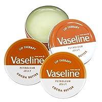 ヴァセリン リップセラピー 20g×3個セット ココアバター Vaseline [並行輸入品]