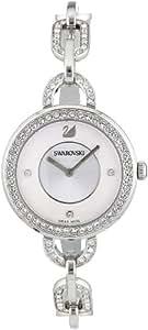 スワロフスキー SWAROVSKI 腕時計 アイラ ホワイト ステンレススチール ブレスレット ウォッチ 1094376【並行輸入品】