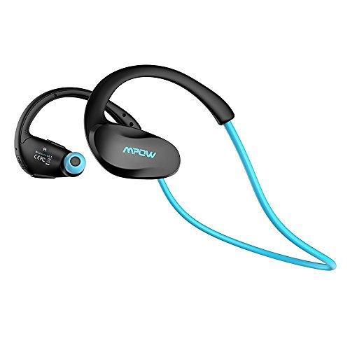 Mpow Cheetah Bluetooth4.1 スポーツイヤホン ワイヤレスヘッドセット AptX対応 最大8時間 iPhone&Android スマートフォン用 改良版(ブラック)