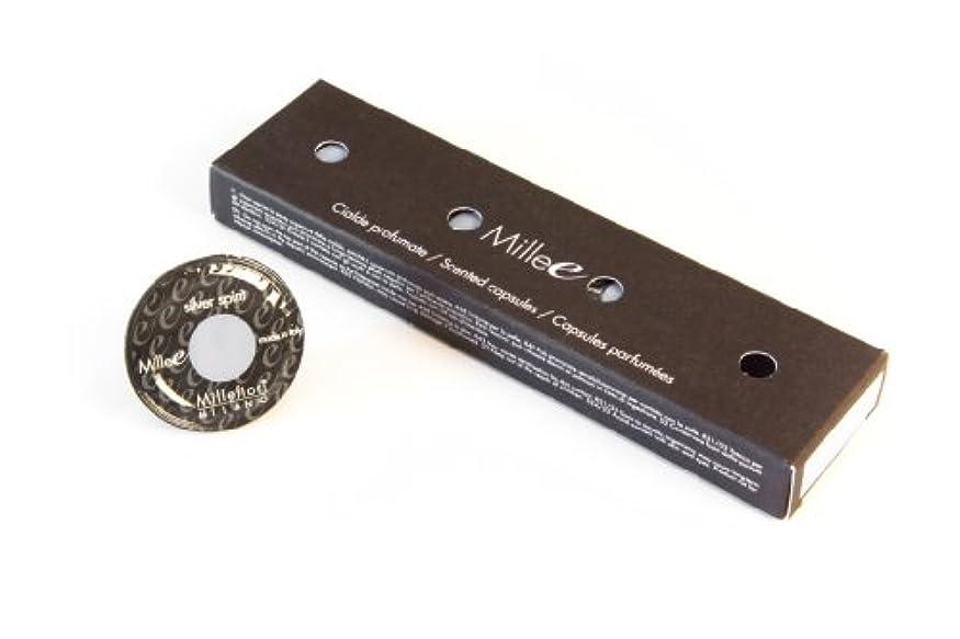 刺繍神チャートMillefiori カプセルディフューザー Mille-e センテッドカプセル シルバースピリット 12MCSI