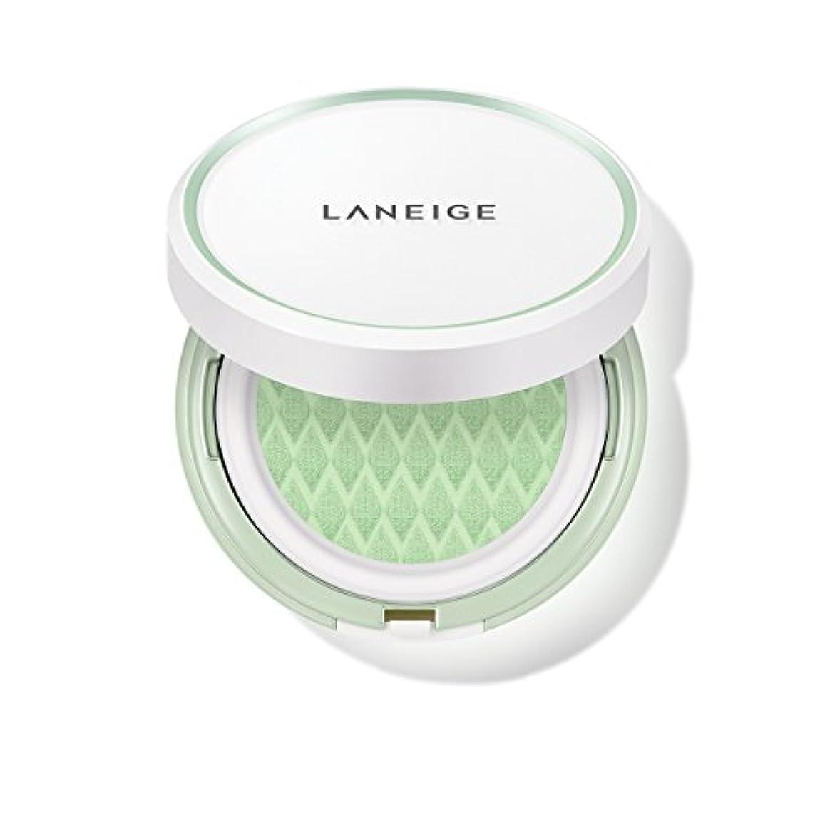 アッパーマイクロプロセッサ宿泊施設ラネージュ[LANEIGE]*AMOREPACIFIC*[新商品]スキンベなベースクッションSPF 22PA++(#60 Light Green) 15g*2 / LANEIGE Skin Veil Base Cushion...