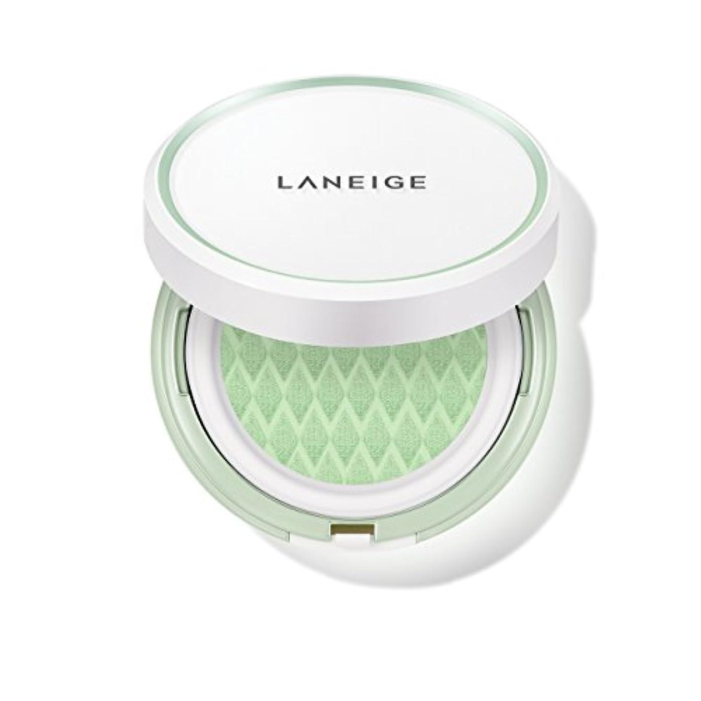 熱狂的な物理学者降ろすラネージュ[LANEIGE]*AMOREPACIFIC*[新商品]スキンベなベースクッションSPF 22PA++(#60 Light Green) 15g*2 / LANEIGE Skin Veil Base Cushion...