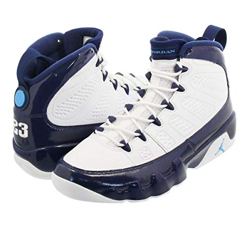 competitive price db1fb 2bfa9  ナイキ  AIR JORDAN 9 RETRO WHITE MIDNIGHT NAVY UNIVERSITY BLUE US11-