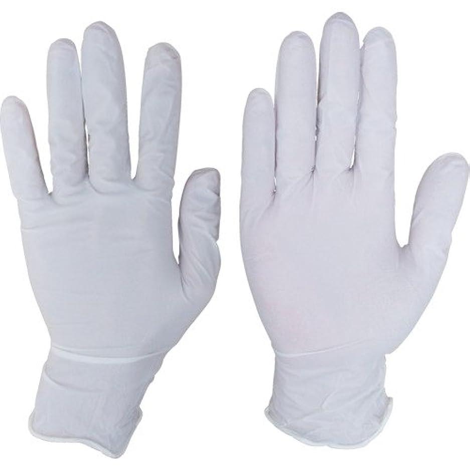 支援する真空まっすぐにするシンガーニトリルディスポ手袋 No.110 ホワイト パウダーフリー(100枚) SS