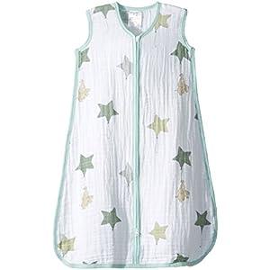 aden + anais (エイデンアンドアネイ) 【日本正規品】 クラシック スリーピング バッグ (スリーパー) up, up and away sleeping bag (M) 8063