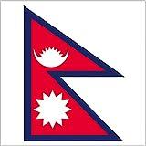 国旗 ネパール ミニ No.23301(取寄商品)