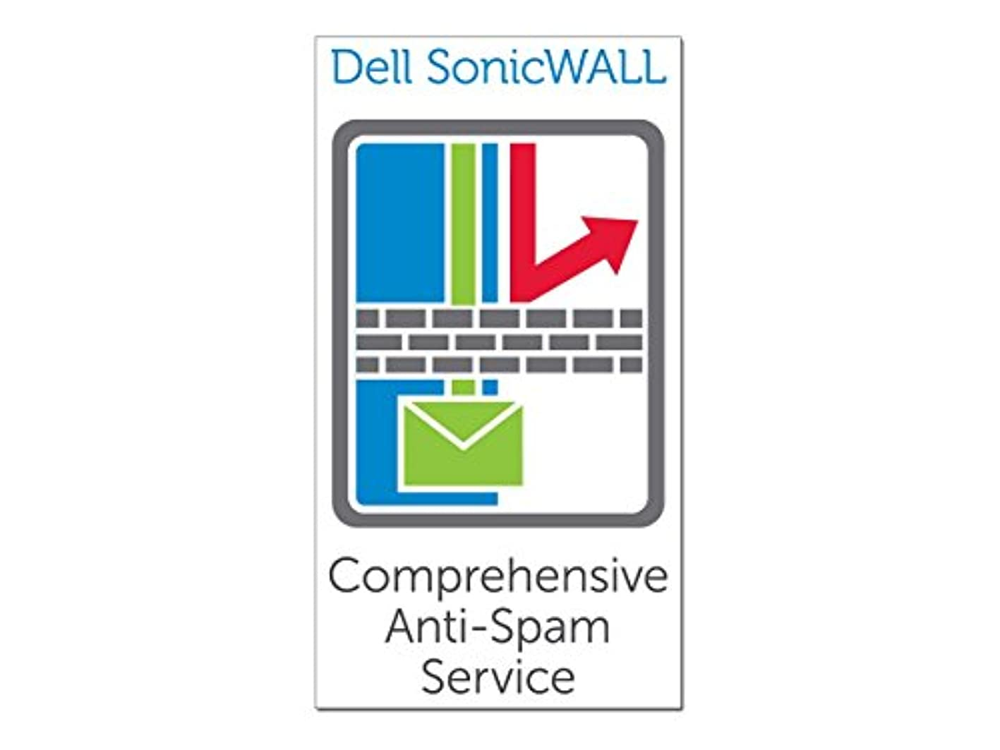 数学者累計ダーリンSonicWALL Comprehensive Anti-Spam Service for TZ 200 Series - 1yr