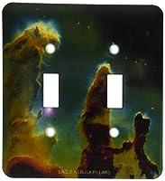 3drose LSP _ 76796_ 2Galaxyと星雲Eagle Nebula Pillarsダブル切り替えスイッチ