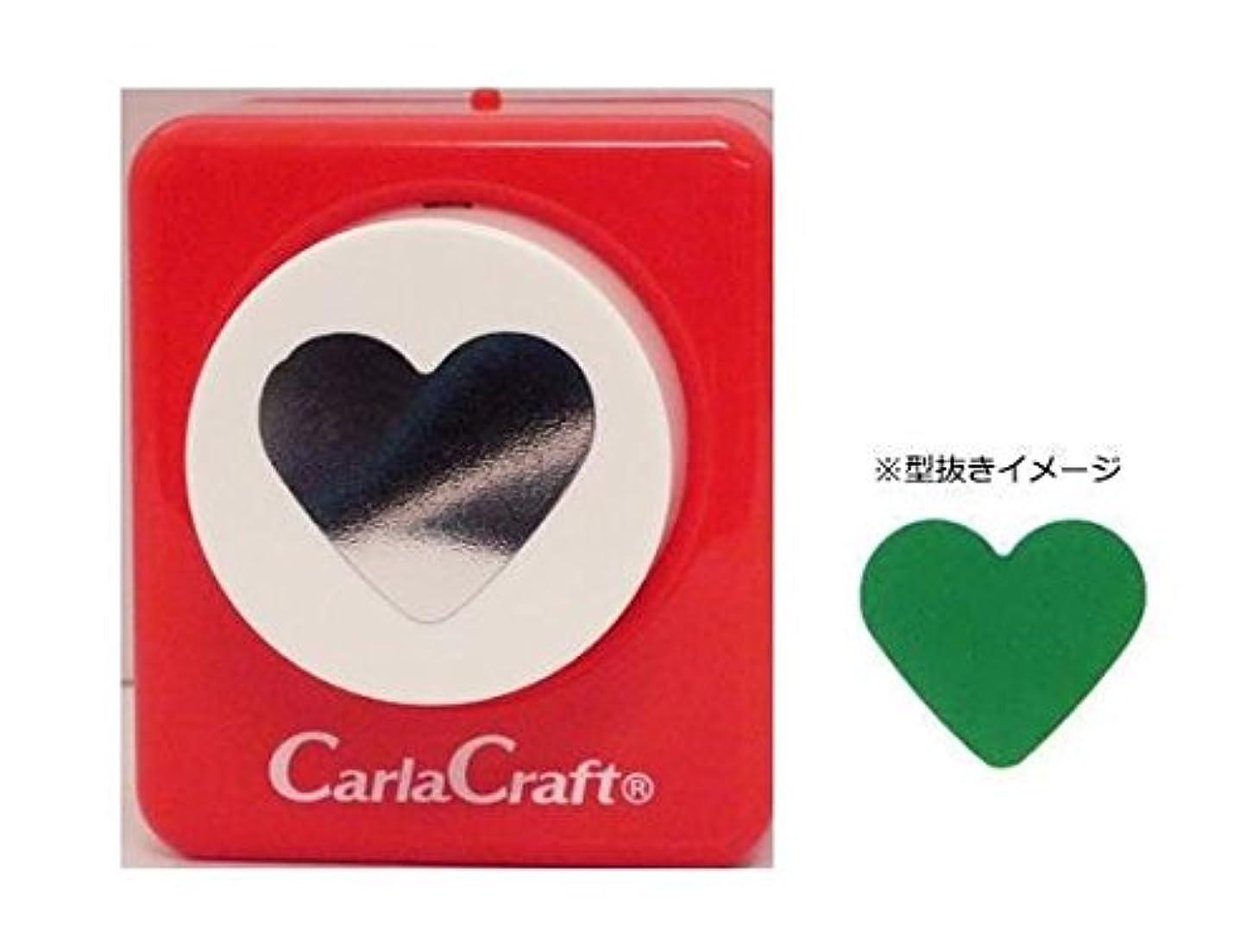 兵士覚えているリマCarla Craft(カーラクラフト) ミドルサイズ クラフトパンチ ハート