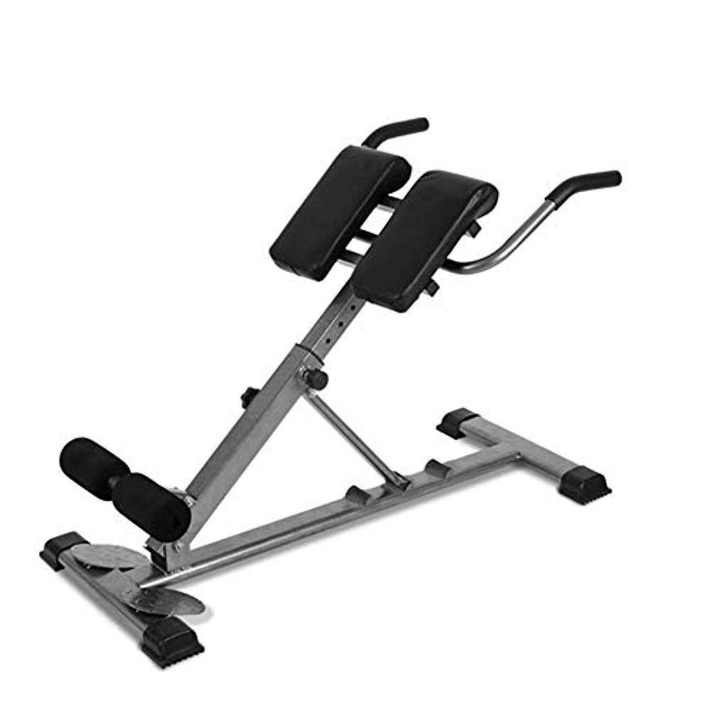 運動する狂乱はい調整可能なローマ椅子、拡張ベンチ家庭用屋内マルチワークアウト腹部フィットネスローマ椅子バックウエストトレーニング、若い男性に適しています
