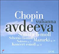 ピアノ協奏曲第1番、ピアノ作品集 ユリアンナ・アヴデーエワ(2010年第16回ショパン国際ピアノ・コンクール・ライヴ)(2CD)