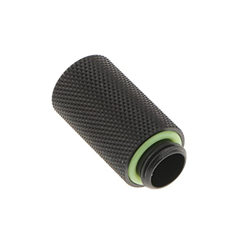 男やもめ決定的写真のフィッティング エクステンダー G1/4 スレッド マット ブラック銅 PC 液体冷却適用 アクセサリー 部品 全5サイズ - 30mm