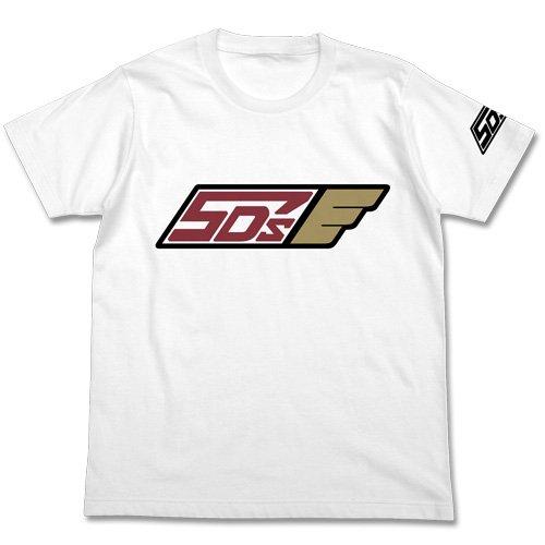 遊☆戯☆王5D's チーム5D's Tシャツ ホワイト Mサイズ