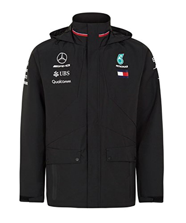 [ Mercedes AMG ] メルセデス AMG ペトロナス F1 Team 2018 オフィシャル レプリカ レインジャケット