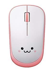 ELECOM ワイヤレスマウス IRLED 静音マウス 3ボタン 省電力 ピンク M-IR06DRSPN