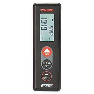 タジマ レーザー距離計 F02ブラック PSC認定取得品 LKT-F02BK