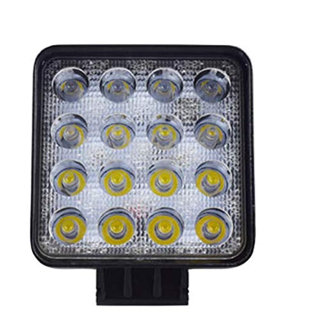 比類のない合成前者48W LED DRLワーキングライト防水スクエアライト車のトラックスポットライト