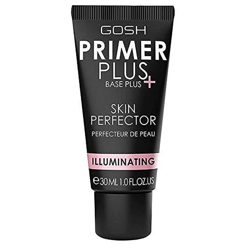 気難しいどっち休戦[GOSH ] おやっプライマープラス照明皮膚完璧なプライマー30ミリリットル - Gosh Primer Plus Illuminating Skin Perfect Primer 30ml [並行輸入品]