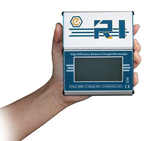 EV-PEAK R1 300W 20A RC Lipo Battery Balance Charger&Discharger For LiPo/LiFe/LiHV/NiMH/NiCd Batteries [並行輸入品]