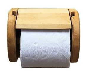 COUNTRY HOUSE(カントリーハウス) 木製 トイレットペーパーホルダー トイレ用品 オスモチーク