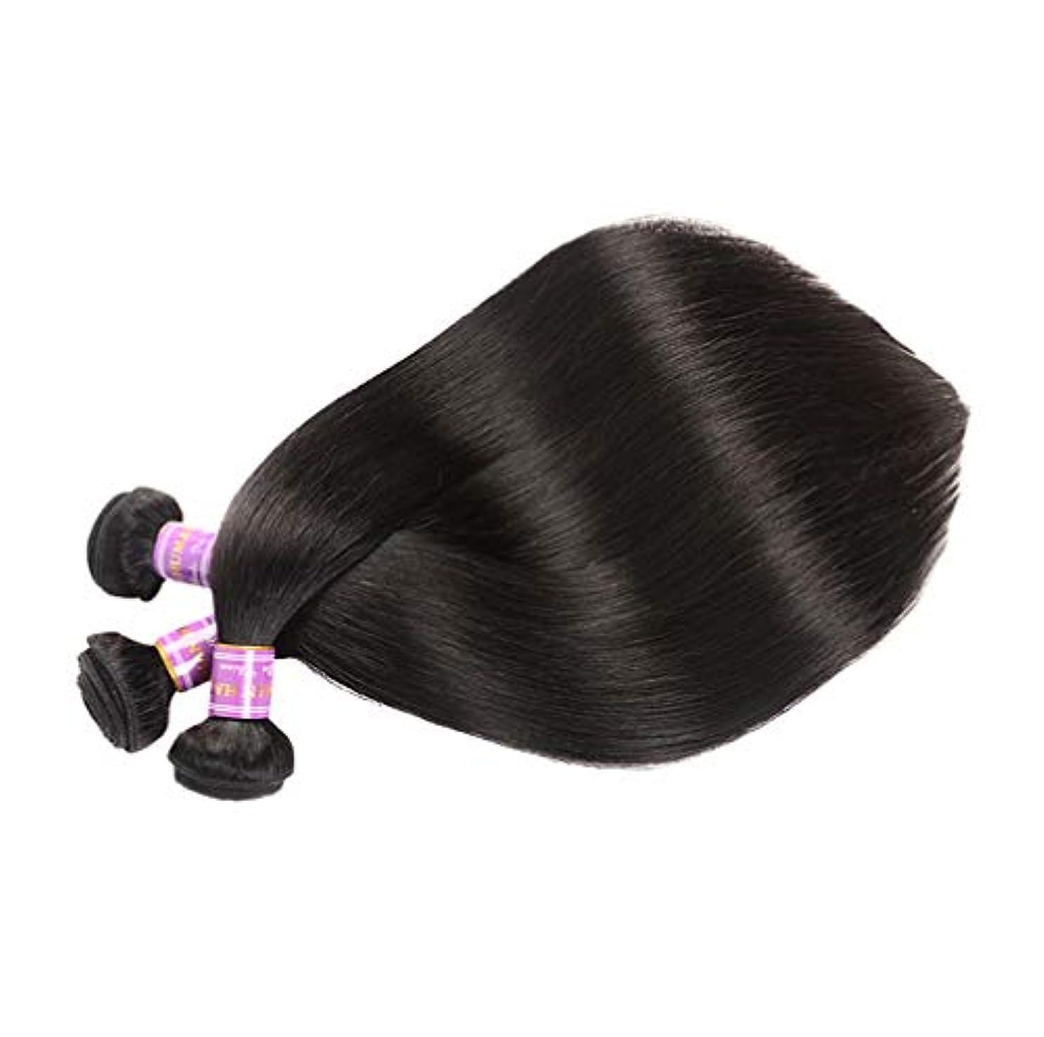ローストナットシャッター3バンドル人間の髪織りバンドルグレード9Aブラジルバージン毛延長横糸レミーストレート人間の髪