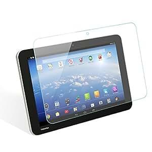 wisers ガラスフィルム 東芝 Toshiba Android (TM) タブレット A204YB Yahoo! BB 専用モデル 専用 強化ガラス 液晶 保護 ガラス フィルム、耐衝撃、表面硬度9H、指紋・汚れ防止コート、スムースタッチ、0.3mm