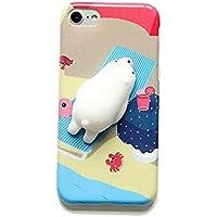 iPhone 7 Plus 3d Squishyケース、aigogoキュート可愛い漫画動物ソフト電話ケースカバーfor iPhone 7 Plus 5.5インチ