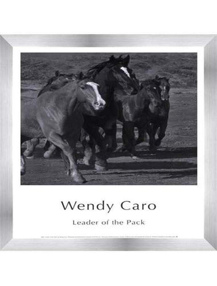 錫北コンテンポラリーLeader of the Pack by Wendy Caro – 12 x 15.75インチ – アートプリントポスター LE_583305-F9935-12x15.75