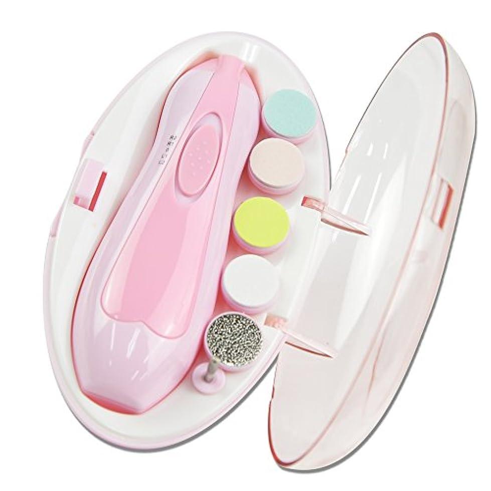 ONE'S 電動 ネイルケアキット 赤ちゃんとママのネイルケア 超静音 LEDライト付き