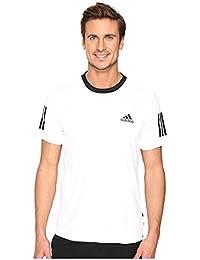 (アディダス) adidas メンズタンクトップ・Tシャツ Club Tee White/Black/Grey XS XS [並行輸入品]