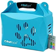 Petface 29009 Eco Carrier for Pets, Blue, Large