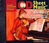 CD Sheet Music J.S.バッハ 鍵盤作品集