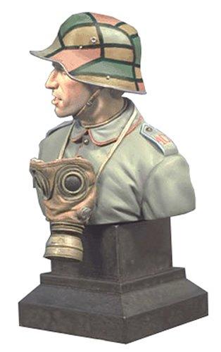 アンドレアミニチュアズ S9-B19 WWI ドイツ突撃部隊兵士