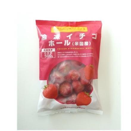 冷凍イチゴホール 500g 【冷凍】/Wismettac(3袋)