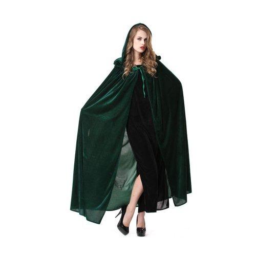 魔女 マント コスチューム グリーン フリーサイズ