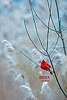 Birder Journal: Bird Watching Log Book, Field Diary Notebook,  Birding Trips Species Record Tracker, Cardinal Lovers Design