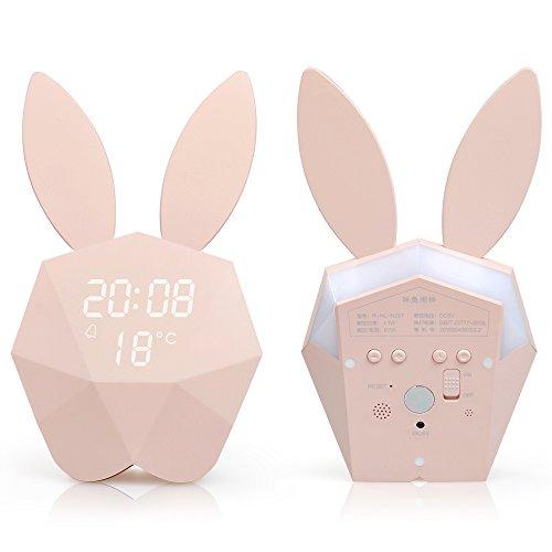[해외]Starhealth 알람 시계 머리맡 램프 알람 및 늦잠 기능/Starhealth Alarm clock with bedside lamp alarm and late afternoon function