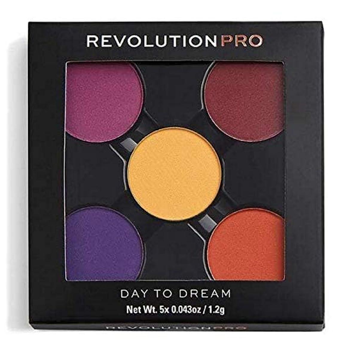 仕事に行く大使館煙[Revolution ] 夢への革命プロリフィルアイシャドウパック日 - Revolution Pro Refill Eyeshadow Pack Day To Dream [並行輸入品]