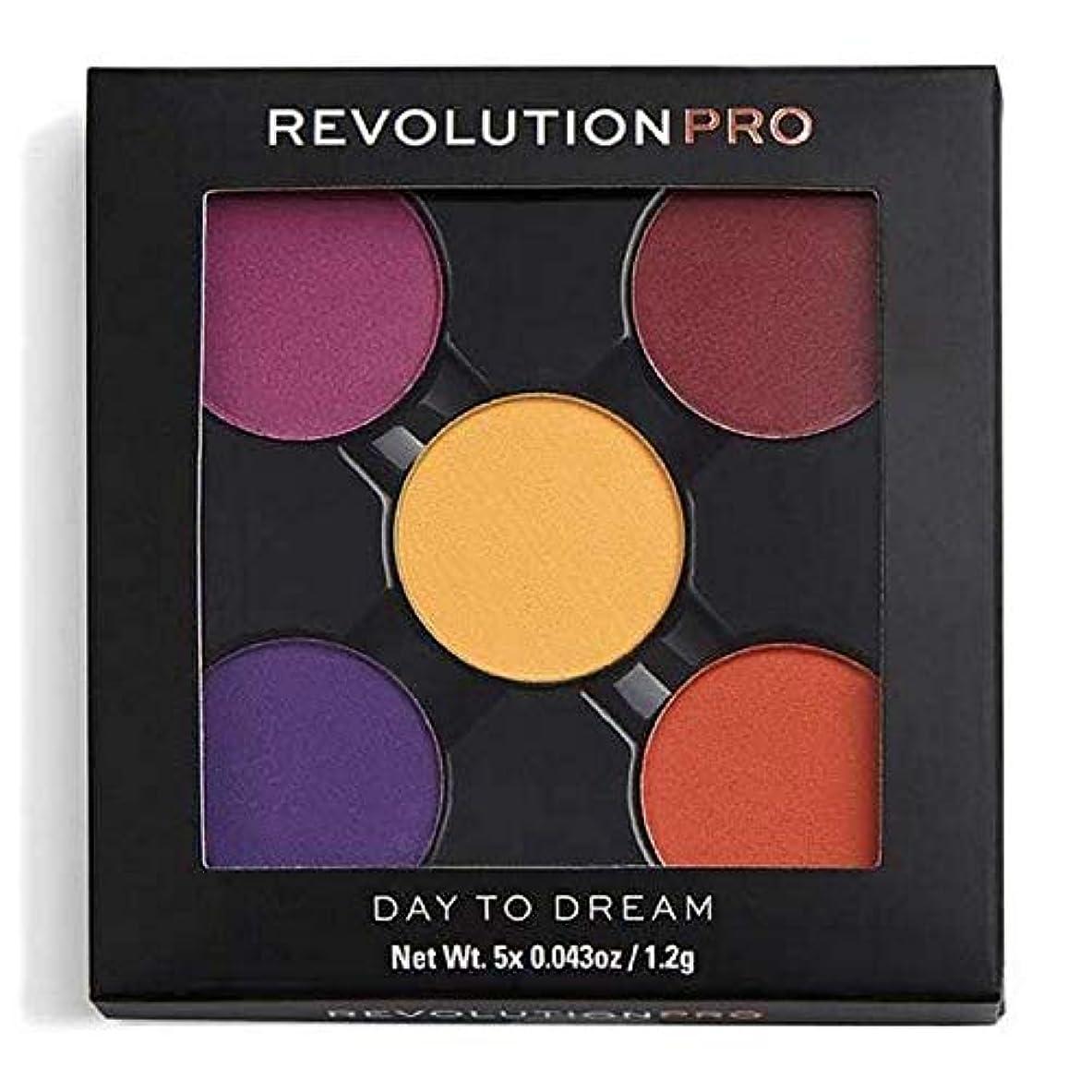 顕現デッキハーブ[Revolution ] 夢への革命プロリフィルアイシャドウパック日 - Revolution Pro Refill Eyeshadow Pack Day To Dream [並行輸入品]