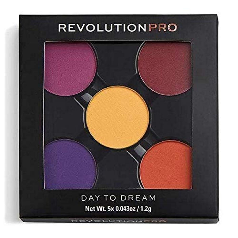 瀬戸際二次集中[Revolution ] 夢への革命プロリフィルアイシャドウパック日 - Revolution Pro Refill Eyeshadow Pack Day To Dream [並行輸入品]