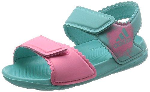 [アディダス] サンダル BABY AltaSwim I イージーミント S17/イージーピンク S17 12.0(12cm) (旧モデル) adidas(アディダス) adidas BEX79