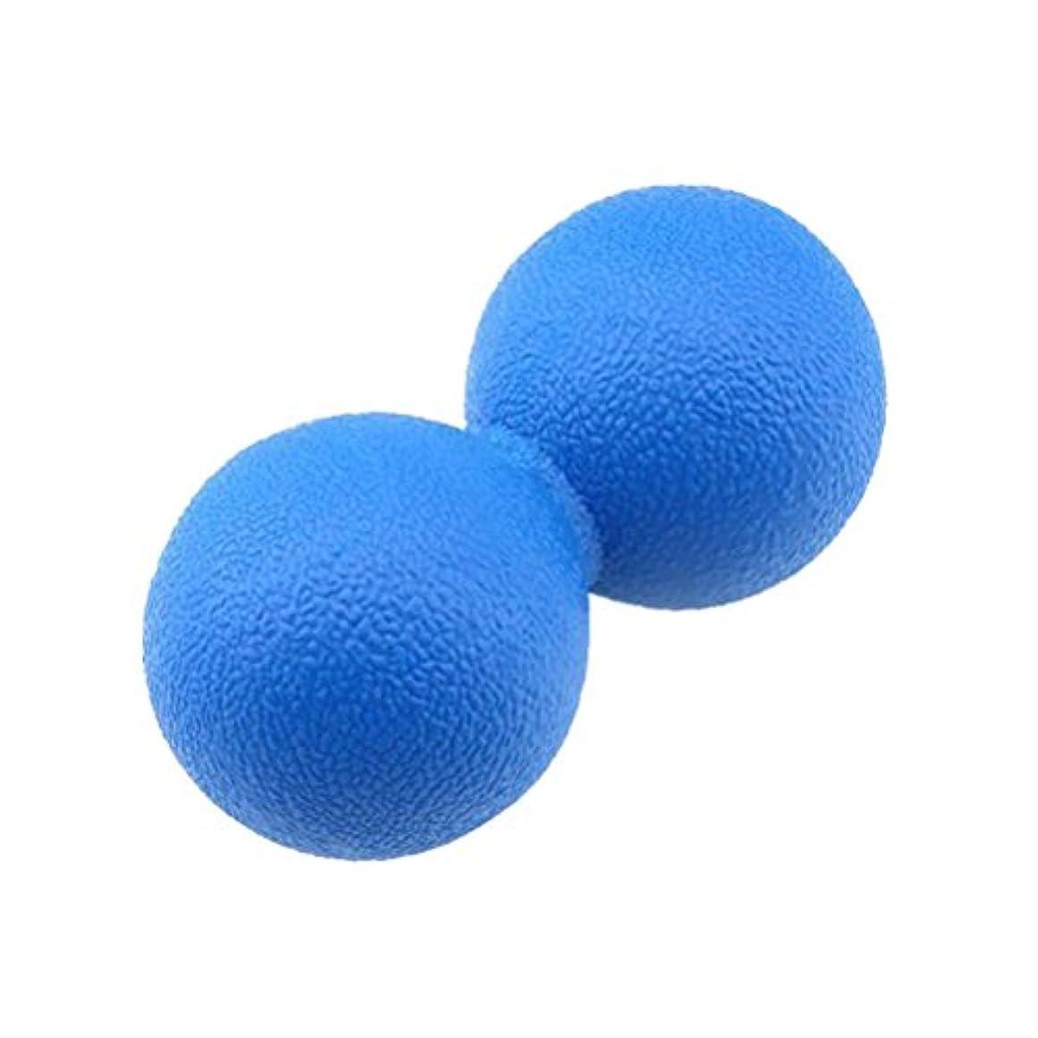 肺炎沿って必要VORCOOL マッサージボール ストレッチボール ハードタイプ トリガーポイント トレーニング 背中 肩こり 腰 ふくらはぎ 足裏 ツボ押しグッズ スーパーハードタイプ 筋肉痛を改善 運動前後(ブルー)