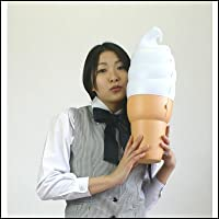 ビニールPOPバルーン ソフトクリーム小 H47cm/ポップバルーン  4061