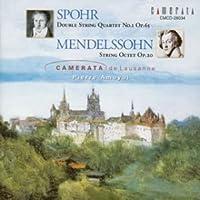 シュポア/メンデルスゾーン:弦楽八重奏曲