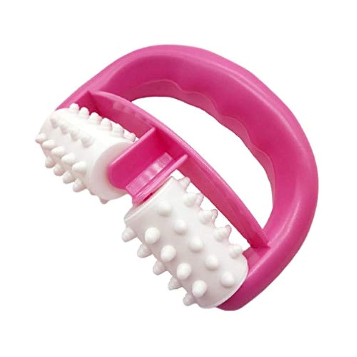 おばさん膨張する蛇行ローラーマッサージャー - マニュアルローラーマッサージャー/マッサージ?完璧な体験を提供します。ピンク