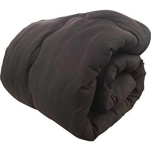 掛け布団 あったか 吸湿発熱布団 洗える 抗菌 防臭 軽量 シングル ブラウン 65200106